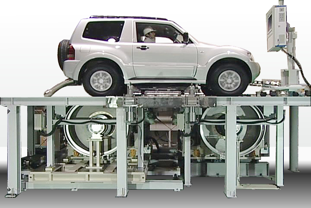 Ono Sokki Chassis Dynamometer For 4wd