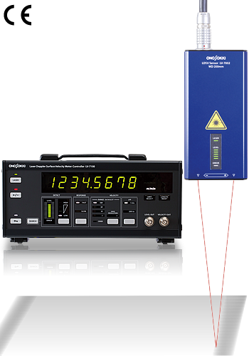 Product picture(Laser Doppler Surface Velocity Meter LV-7000series)